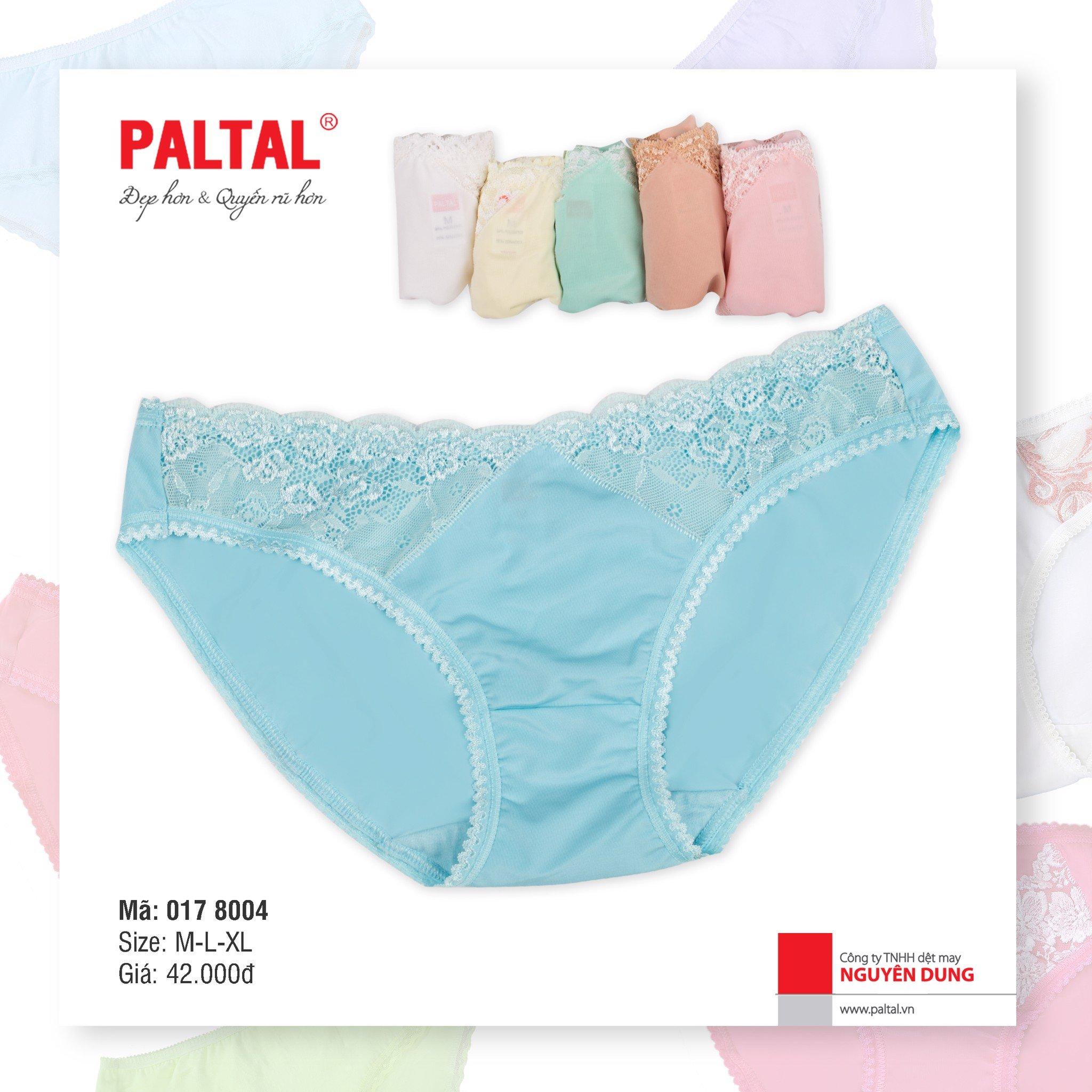 QUẦN LÓT CAO CẤP PALTAL QL 017P 8004