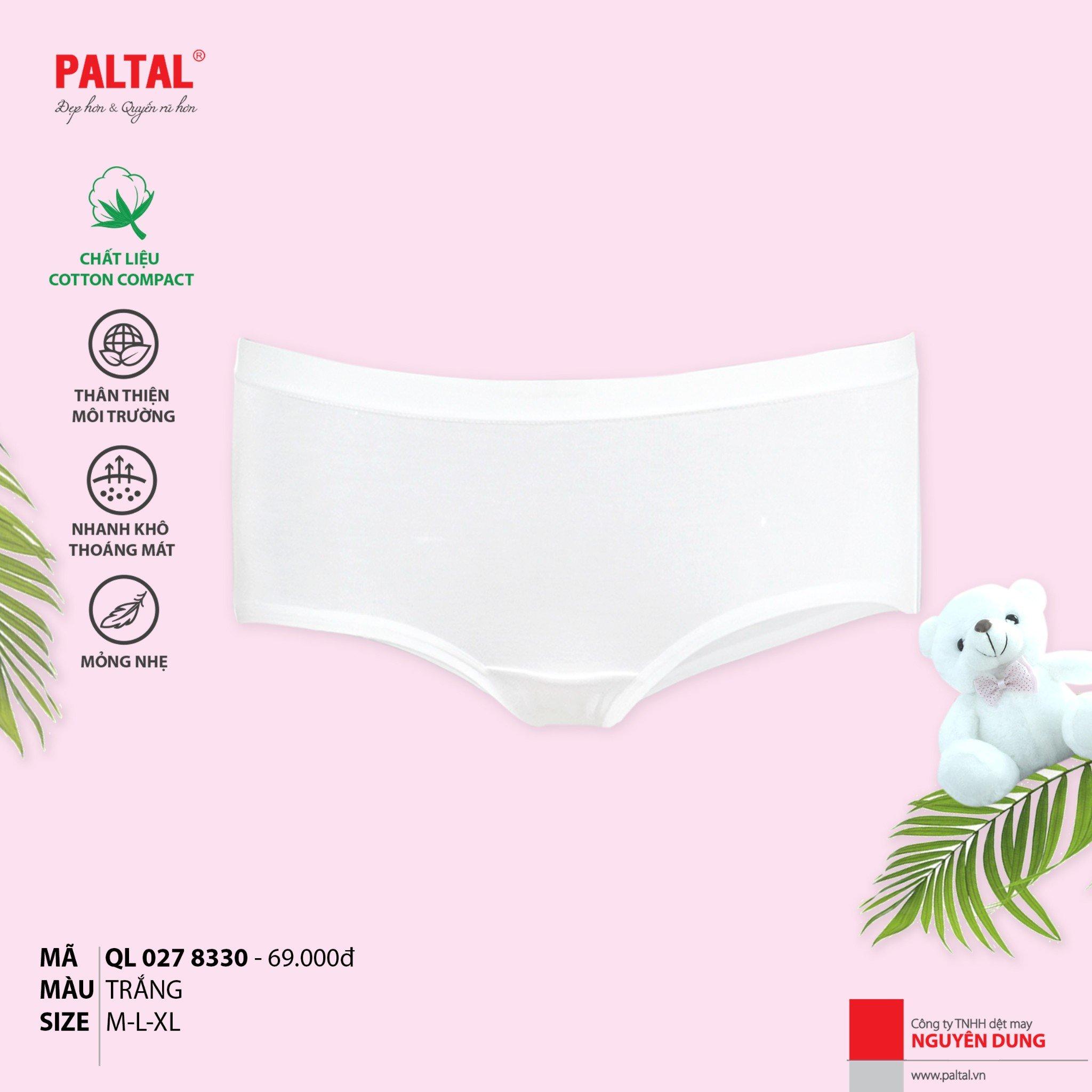 Combo 3 quần lót cấp 3 cao cấp PALTAL ql 027p 8330