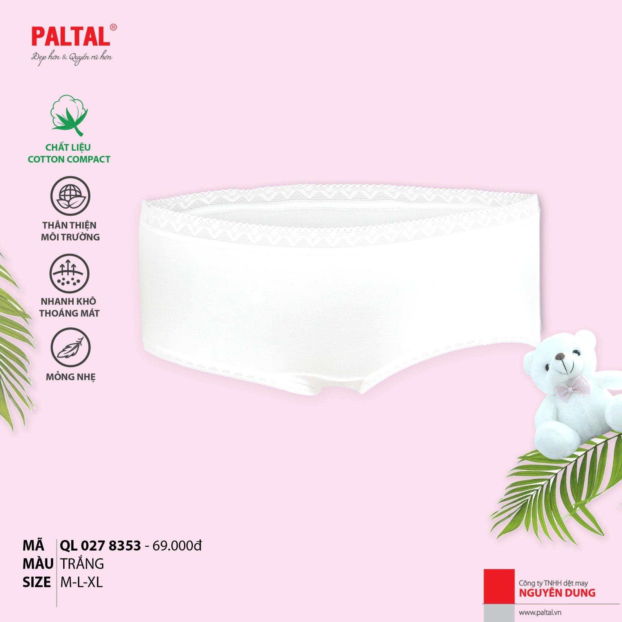 Combo 7 quần lót cấp 3 cao cấp PALTAL ql 027p 8353