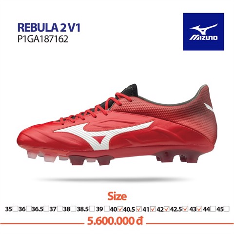 MIZUNO REBULA 2 V1 RED/WHITE