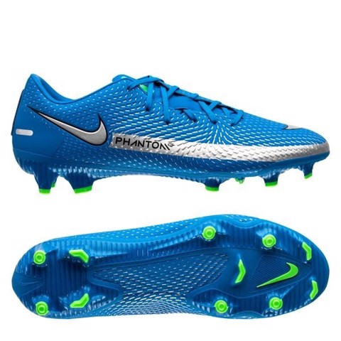 Nike Phantom GT Academy MG Spectrum - Photo Blue/Metallic Silver/Rage Green