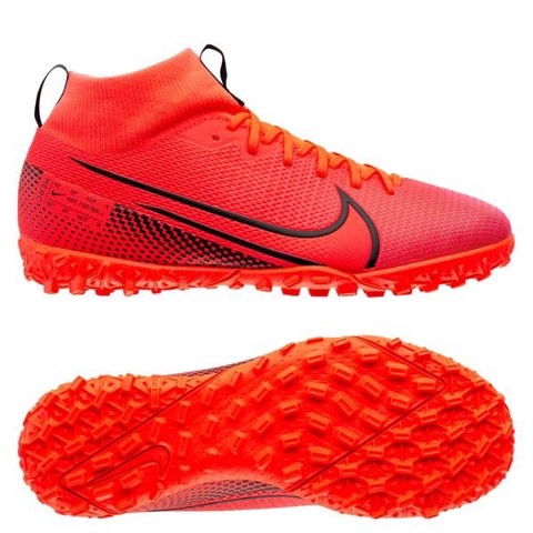 Nike Mercurial Superfly 7 Academy TF Future Lab - Laser Crimson/Black Kids