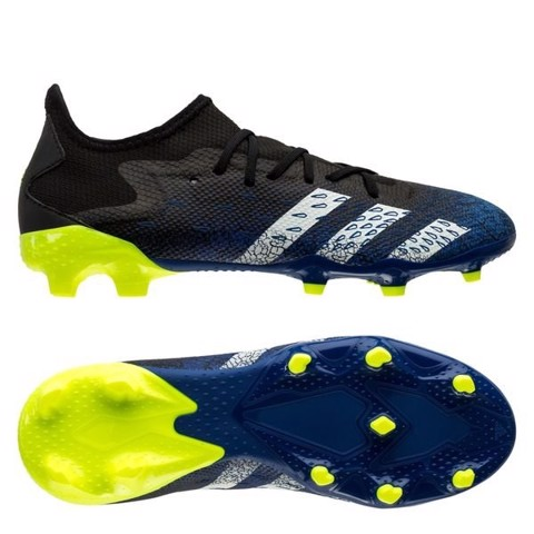 adidas Predator Freak .3 Low FG/AG Superlative - Core Black/Footwear White/Solar Yellow
