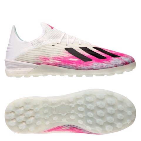 adidas X 19.1 TF Uniforia - Footwear White/Core Black/Shock Pink