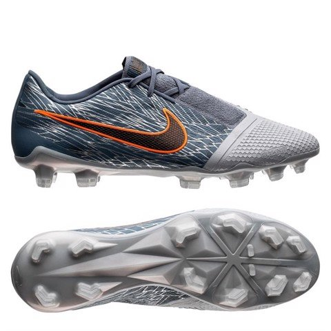 Nike Phantom Venom Elite FG Victory - Wolf Grey/Black/Armory Blue