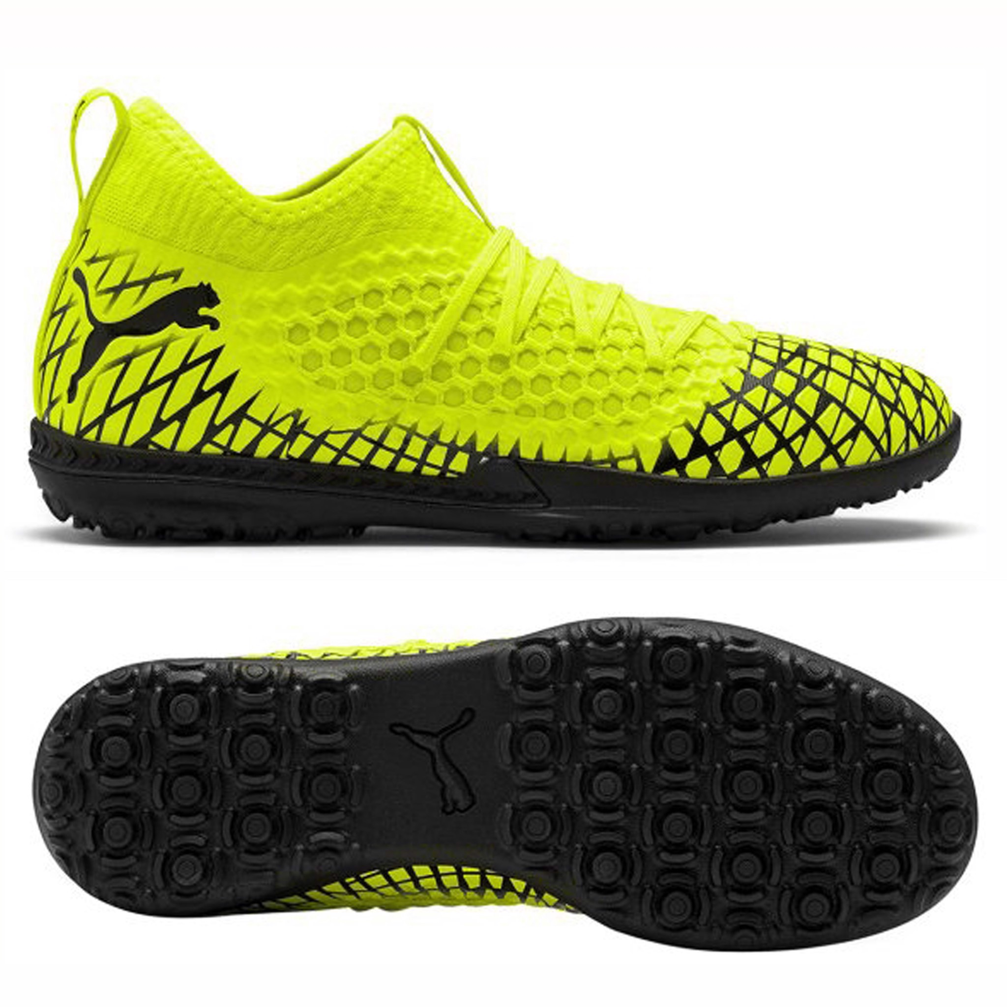 PUMA Future 4.3 Netfit TF Rush - Yellow Alert/PUMA Black
