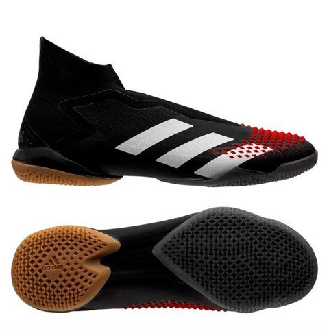 Adidas Predator 20+ IN Mutator - Core Black/Footwear White/Action Red