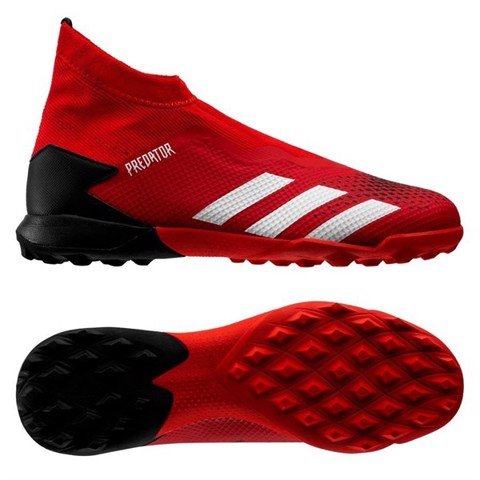 Adidas Predator 20.3 Laceless TF Mutator - Action Red/Footwear White/Core Black