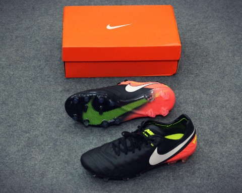 Nike Tiempo Legend 6 FG Dark Lightning Pack - Black/White/Hyper Orange