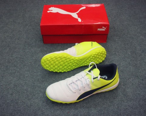 PUMA EVOPOWER 4.3 TF WHITE/PEACOAT/SATETY YELLOW