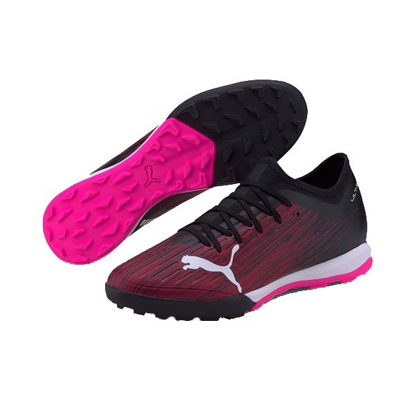 PUMA Ultra 3.1 TF Turbo - PUMA Black/Luminous Pink