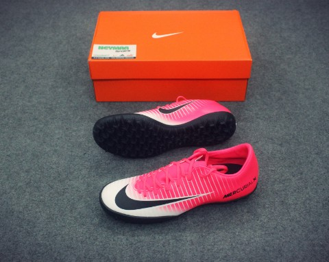 NIKE MERCURIAL VICTORY VI TF RACER PINK/BLACK/WHITE