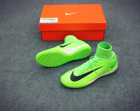 NIKE MERCURIALX PROXIMO IC KIDS GREEN /BLACK/FLASH LIME