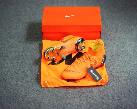 Nike Mercurial Superfly 6 Elite FG Fast AF - Total Orange/Black/Volt