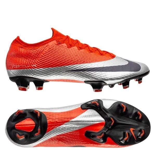 Nike Mercurial Vapor 13 Elite FG Future DNA - Max Orange/Metallic Silver/Black LIMITED EDITION