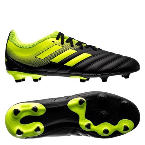 adidas adidas Copa 19.3 FG Exhibit - Core Black/Solar Yellow