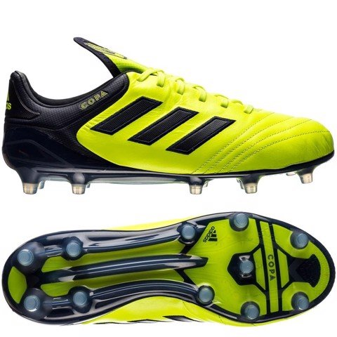 adidas Copa 17.1 FG Ocean Storm - Solar Yellow/Legend Ink