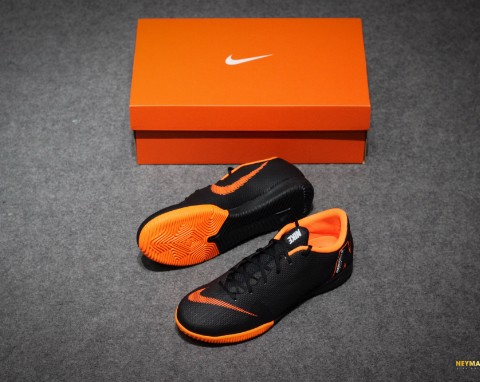Nike Mercurial VaporX 12 Academy IC Fast AF - Black/Total Orange/White