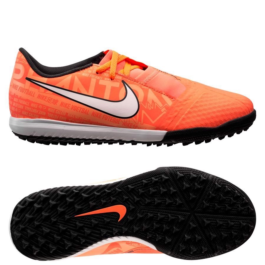 Nike Phantom Venom Academy TF Fire - Bright Mango/White/Orange Pulse
