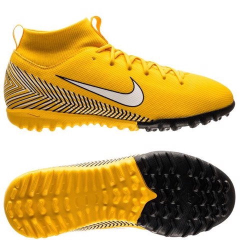 Nike Mercurial SuperflyX 6 Academy TF NJR Meu Jogo Pack - Amarillo/White/Black