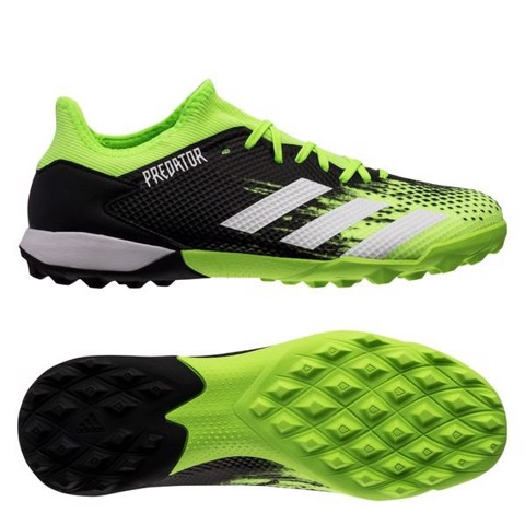 ADIDAS PREDATOR 20.3 LOW TF PRECISION TO BLUR - SIGNAL GREEN/FOOTWEAR WHITE/CORE BLACK