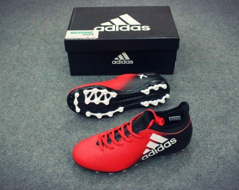 ADIDAS CHAOS X 16.3 AG RED/WHITE/CORE BLACK