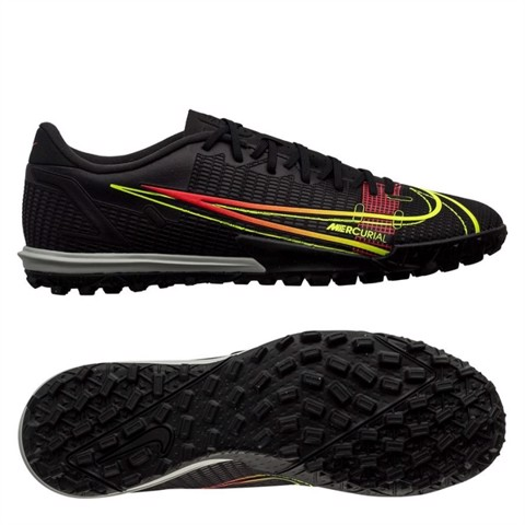 Nike Mercurial Vapor 14 Academy TF Black x Prism - Black/Cyber Yellow/Off Noir