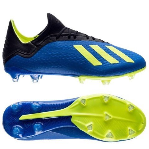 Adidas X 18.2 FG/AG Energy Mode - Blue/Solar Yellow