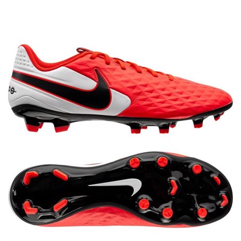 Nike Tiempo Legend 8 Academy MG Future Lab - Laser Crimson / Black / White