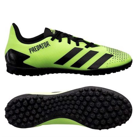 adidas Predator 20.4 TF Precision To Blur - Signal Green/Core Black