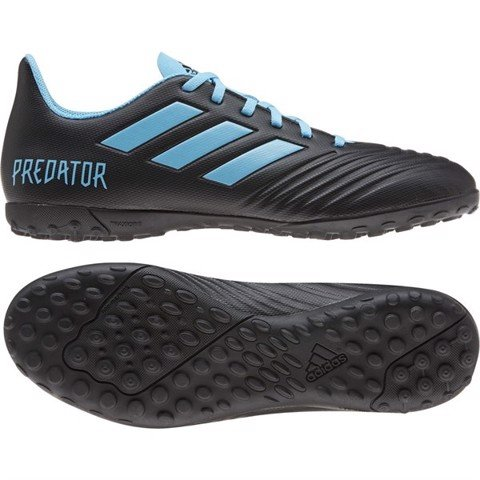 ADIDAS PREDATOR 19.4 TF HARD WIRED - BLACK/BLUE
