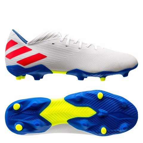 adidas Nemeziz Messi Tango 19.3 FG 302 Redirect - Footwear White/Solar Red/Football Blue