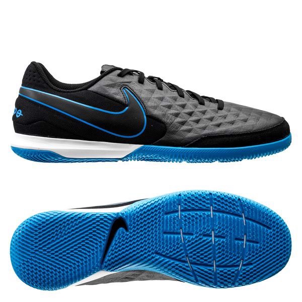 Nike Tiempo Legend 8 Academy IC Under The Radar - Black/Blue Hero