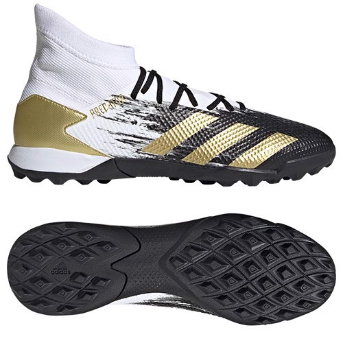 Adidas Predator 20.3 TF Inflight - Footwear White/Gold Metallic/Core Black