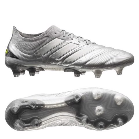 adidas Copa 20.1 FG/AG Encryption - Silver Metallic/Solar Yellow