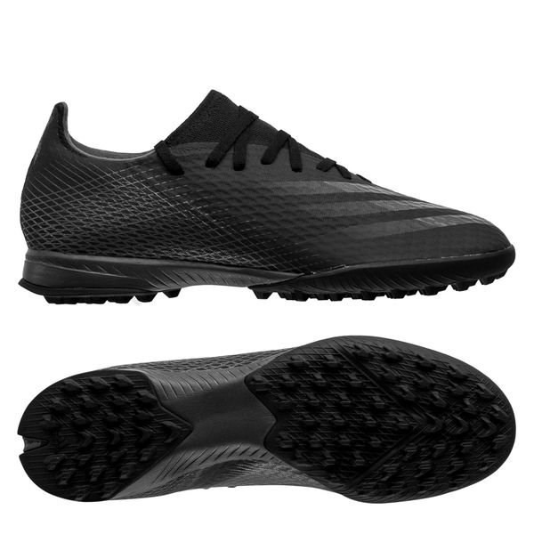 adidas X Ghosted .3 TF Dark Motion - Core Black / Grey Six