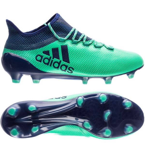 adidas X 17.1 FG Deadly Strike - Aero Green/Unity Ink/Hi-Res Green