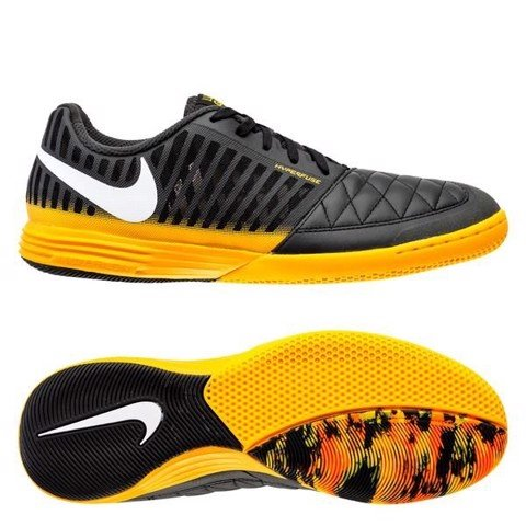 Nike Lunargato II IC Nightfall - Dark Smoke Grey/White/Laser Orange/Black