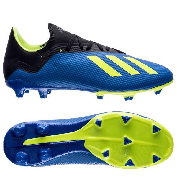 Adidas X 18.3 FG Energy Mode - Blue/Solar Yellow