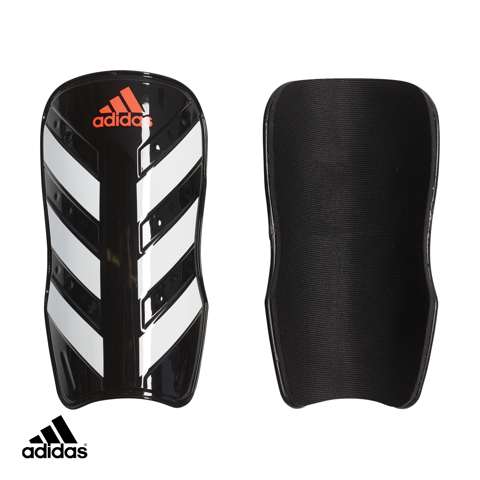 Adidas Everlesto Shin Guards Black / White / Solar Red