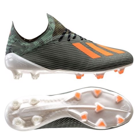 Adidas X 19.1 FG/AG Encryption - Legion Green/Solar Orange/Core White