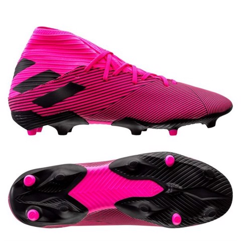 adidas Nemeziz 19.3 FG/AG Hard Wired - Shock Pink/Core Black