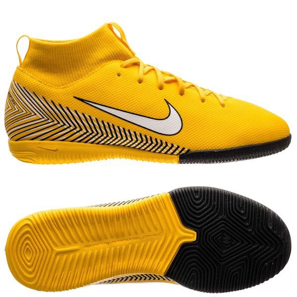 Nike Mercurial SuperflyX 6 Academy IC NJR Meu Jogo Pack - Amarillo/White/Black