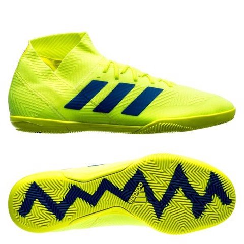 adidas Nemeziz Tango 18.3 IC Exhibit - Solar Yellow/Blue