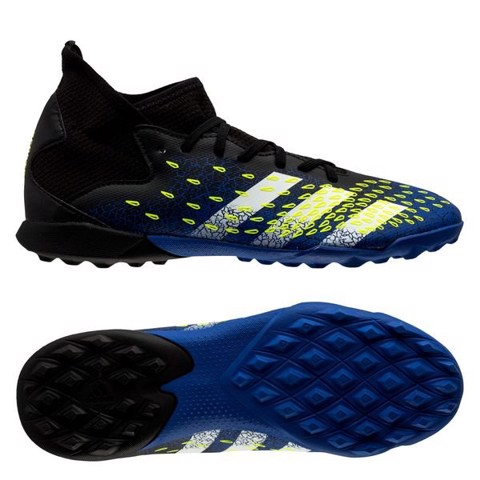 ADIDAS PREDATOR FREAK .3 TF SUPERLATIVE - CORE BLACK/FOOTWEAR WHITE/SOLAR YELLOW KIDS