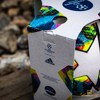 adidas Football Champions League 2020 Final Match Ball - White/Bright Cyan/Solar Yellow