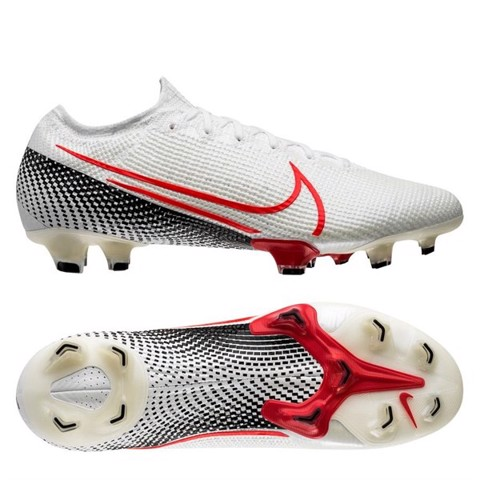 Nike Mercurial Vapor 13 Elite FG LAB2 - White/Laser Crimson/Black