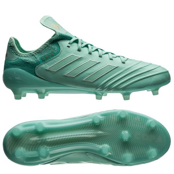 adidas Copa 18.1 FG/AG Spectral Mode - Clear Mint/Gold Metallic