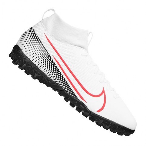 Nike Mercurial Superfly 7 Academy TF LAB2 - White/Laser Crimson/Black Kids