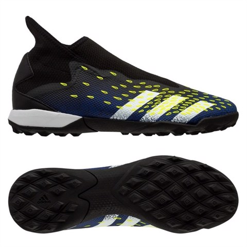 adidas Predator Freak .3 Laceless TF Superlative - Core Black/Footwear White/Solar Yellow
